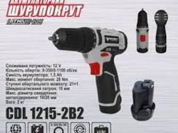 Шурупокрут акумуляторний FORTE CDL 1215-2 В2