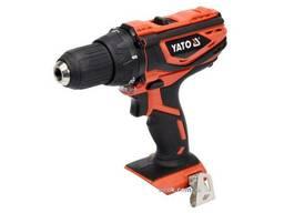 Шуруповерт-дриль акумуляторний YATO 18 В 40 Нм (без акумулятора і зарядного пристрою)