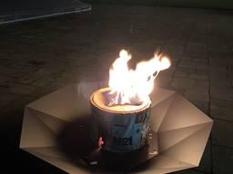 Шведский огонь для камина, костровой чаши N1 Large