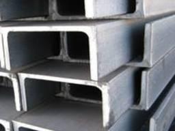 Алюминиевый швеллер отбортованный 37x10, 3x1, 5 мм