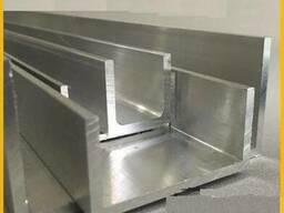 Швеллер алюминиевый 120х40х4,0 мм без покрытия