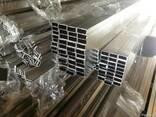 Швеллер алюминиевый АД-1 АД-31 АД-0 АД - фото 1