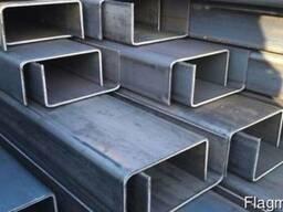 Профиль алюминиевый П-образный 45х42, 5х2 мм
