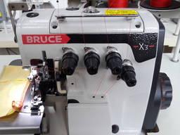 Швейная машина- оверлок четырехниточный Брюс Bruce X-3 Новый