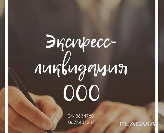 Швидка ліквідація підприємства. Ліквідація ТОВ за 24 години.