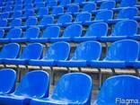 Сиденье стадионное пластиковое - фото 2
