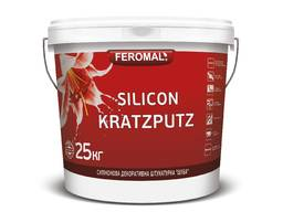 "Silicon Kratzputz Силіконова штукатурка ""Шуба"" (зер. 1, 5 мм)"