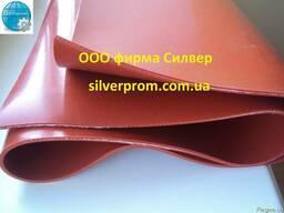 Резинотканевая силиконовая пластина - silverprom