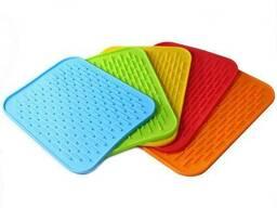 Силиконовый коврик для сушки посуды 21х15