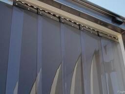 ПВХ завесы, Холодильные шторы, Барьер холода