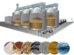 Силосы для сыпучих материалов и веществ Производство