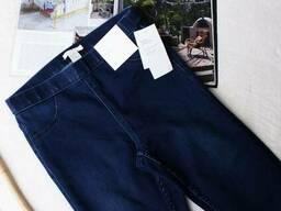 Сині джинси на гумці