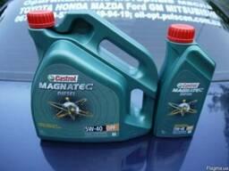 Синтетическое моторное масло Castrol Magnatec 5w-40 DPF, 4л