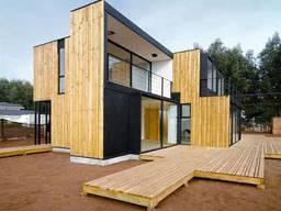 Сип панельный каркасный дом. Сіп панельні будинки Sip панель