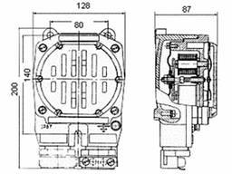 Сирена сигнальная ПВСС-413 220В 103Дб IP67 в наличии