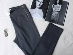 Сірі штани скинни
