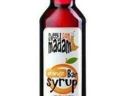 Сироп Sweet Madam, апельсин, 0. 7 л