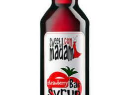 Сироп Sweet Madam, клубника, 0. 7 л