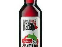 Сироп Sweet Madam, малина, 0. 7 л