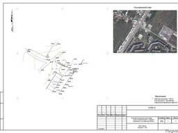 Ситуаційний план із зазначенням місця розташування електроус