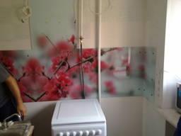 Скинали, стеклянные фартуки