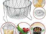 Складная решетка - дуршлаг Magic Kitchen Chef Basket - фото 3