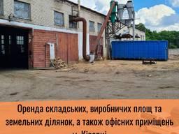 Складські, виробничі площі та офісні приміщення м. Ківерці