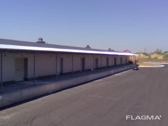 Складской комплекс площадью 11000 кв. м