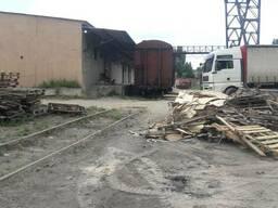 Складской комплекс с ЖД веткой, 1,6 га, 3400 кв. м. , Одесса