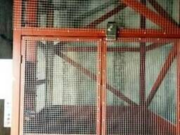 Складской подъёмник-лифт под заказ Шахтный. Монтаж