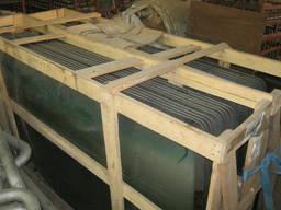 Скло лобове автомобільне 1,2х2 м вигнуте - триплекс.
