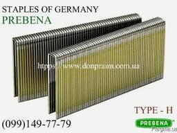Скоба для пневмостеплера каркасная Тип-Н, шириной 8, 7мм