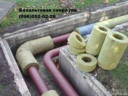 Утеплитель для труб базальтовый