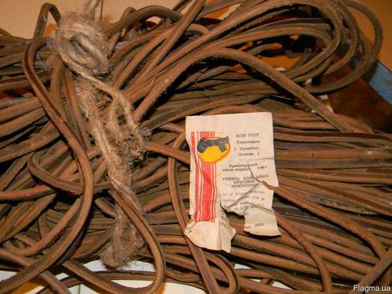 Ремень приводной круглый ф5мм кожаный на фрезер GIL Deckel