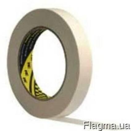Скотч бумажный 3М высокотемпературный водостойкий 25мм
