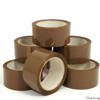 Скотч коричневый упаковочный