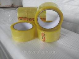 Скотч упаковочный 40мкм*45мм*100м (прозрачный)