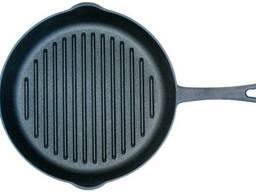 Сковорода-гриль чугунная Biol - 240 мм, с носиком