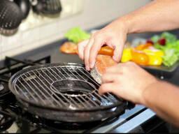 Сковорода Гриль-газ Домашний барбекю 32 см