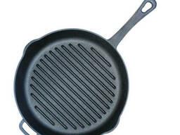 Сковорода-гриль круглая 24 см Биол 1124