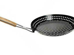 Сковорода-жаровня для барбекю Stenson MH-2057 антипригарная