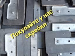 Скребки для скребковых конвейеров и цепных транспортеров резино-тканевые