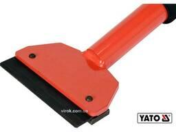 Скребок ударний для збивання твердих розчинів YATO 58-82 см зі сталевим лезом 10 см