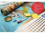 Скретч карта мира My Flags Map на украинском языке, оригинальный подарок - фото 8