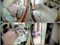 Скрытое видеонаблюдение в квартире в Одессе