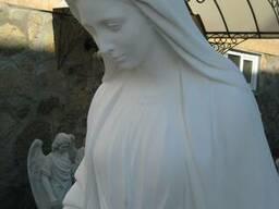 Скульптура Богородицы для сада, парка, памятника