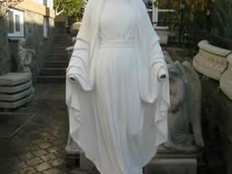 Скульптура Богородицы для сада, парка, памятника - фото 2