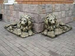 Скульптуры бетонные садовые на дачу, фигуры парковые