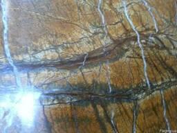 Шлифовка мрамора - это механический процесс