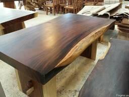 Слэбы - столы из ценных пород дерева. купить столы из сл
